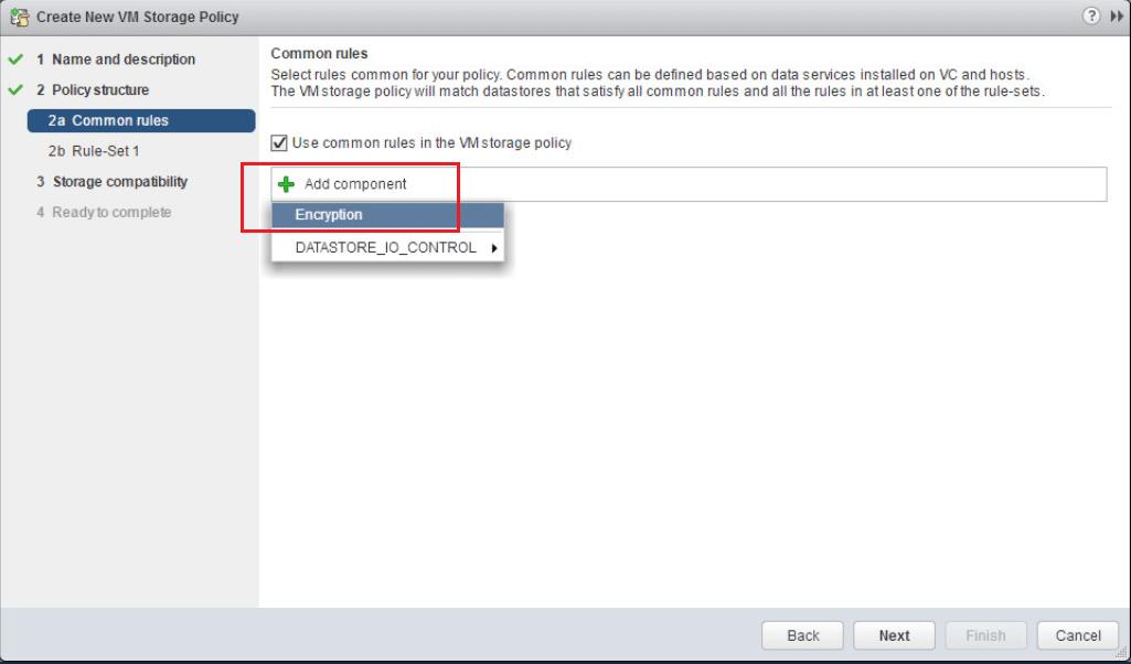 encrypt13 VMware vSphere 6.5 Configure Encrypted VMs