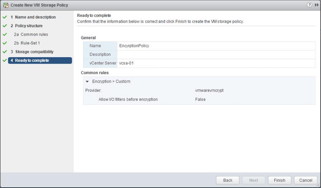 encrypt18 VMware vSphere 6.5 Configure Encrypted VMs