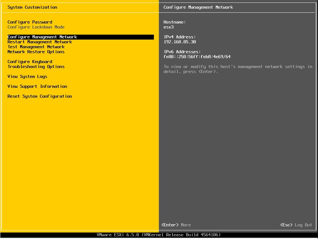 esxi65_15 VMware ESXi 6.5 Install step by step