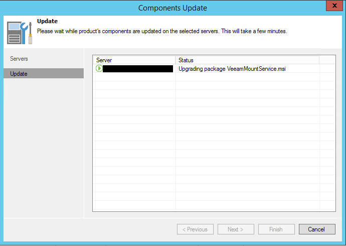 v95up17 Upgrade Veeam Backup and Replication 9.0 to 9.5