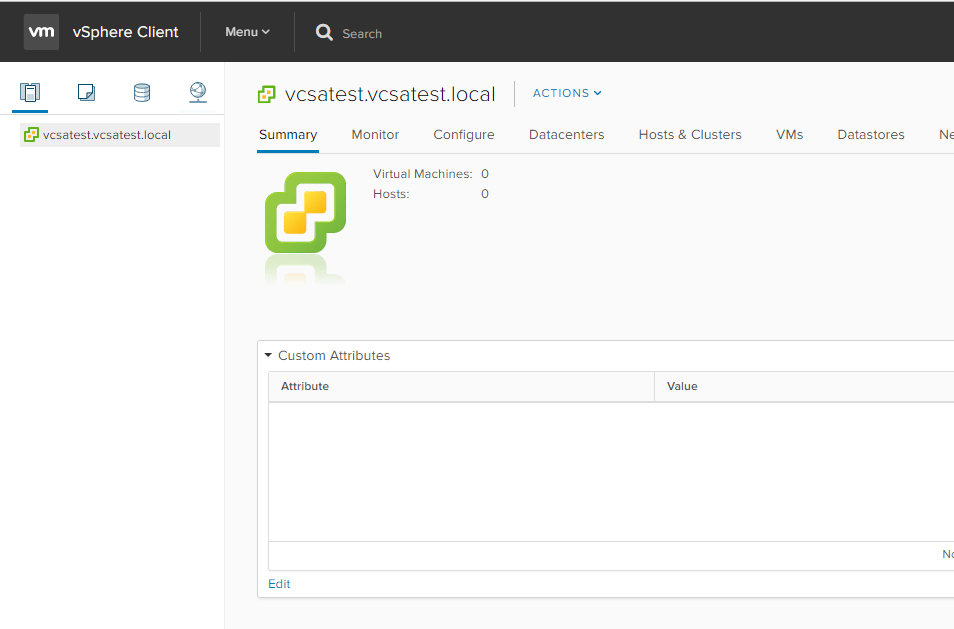 vc65up34 Upgrade VMware vCenter VCSA appliance 6.0 to 6.5