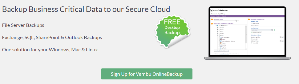 vemafford07 Vembu BDR Suite - The all-in-one backup solution at affordable cost for all