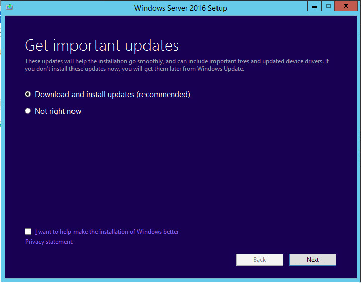 w2012dc16up01 Upgrade Windows Server 2012 R2 Domain Controller to Windows Server 2016