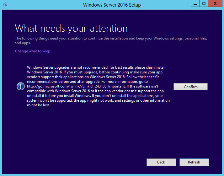 w2012dc16up11 Upgrade Windows Server 2012 R2 Domain Controller to Windows Server 2016