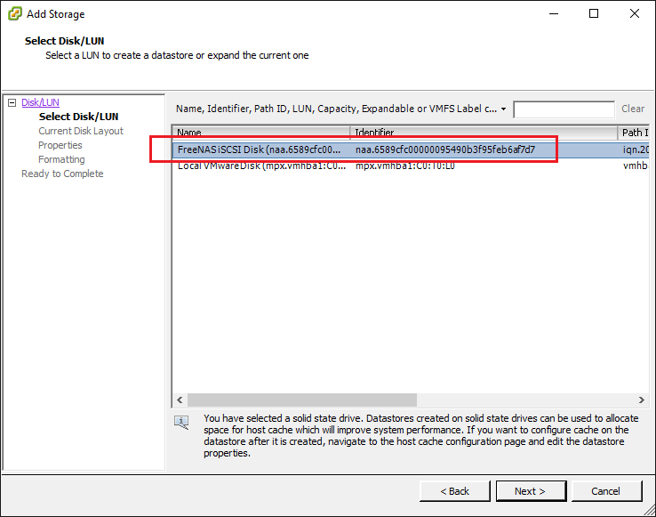 esxi65lun03 VMware ESXi 6.5 Can't Add Existing iSCSI LUN