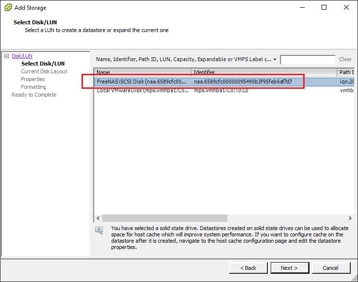 VMware ESXi 6 5 Can't Add Existing iSCSI LUN - Virtualization Howto