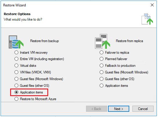 vbr_ad01 Veeam Restore Windows Server 2016 Active Directory Objects