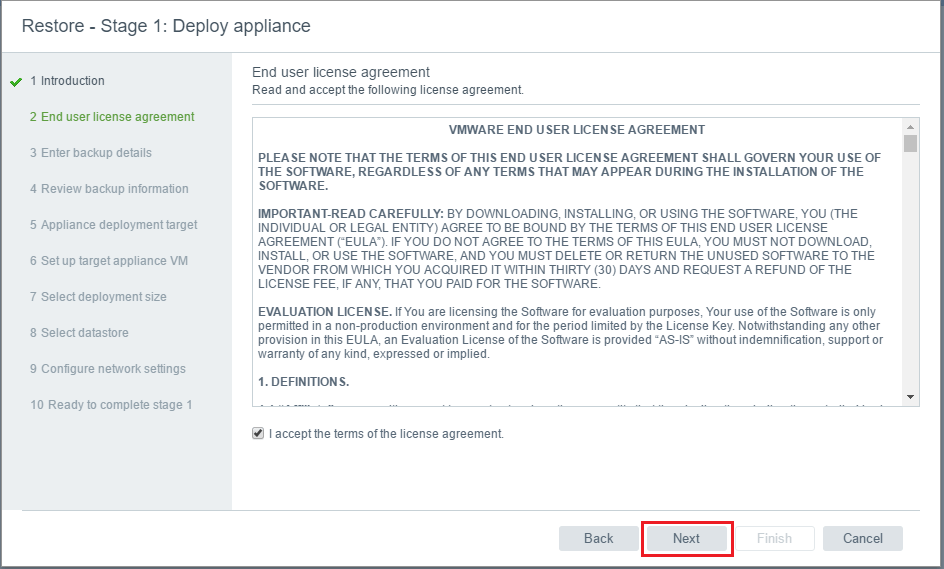vcsa65_rest03 VMware VCSA 6.5 Appliance Restore