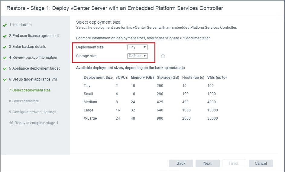 vcsa65_rest09 VMware VCSA 6.5 Appliance Restore