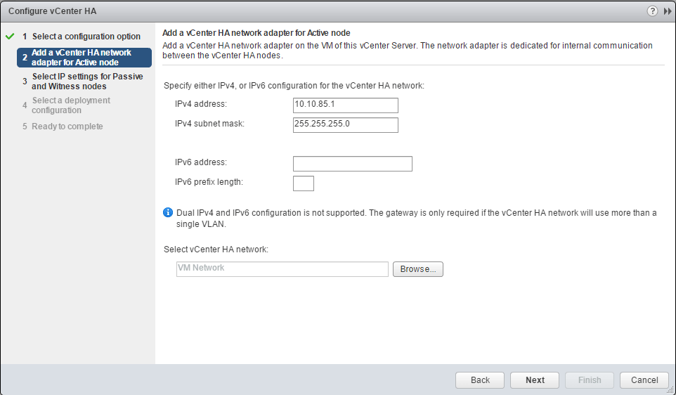 vcsa65n_ha02 How to Configure VMware VCSA 6.5 HA