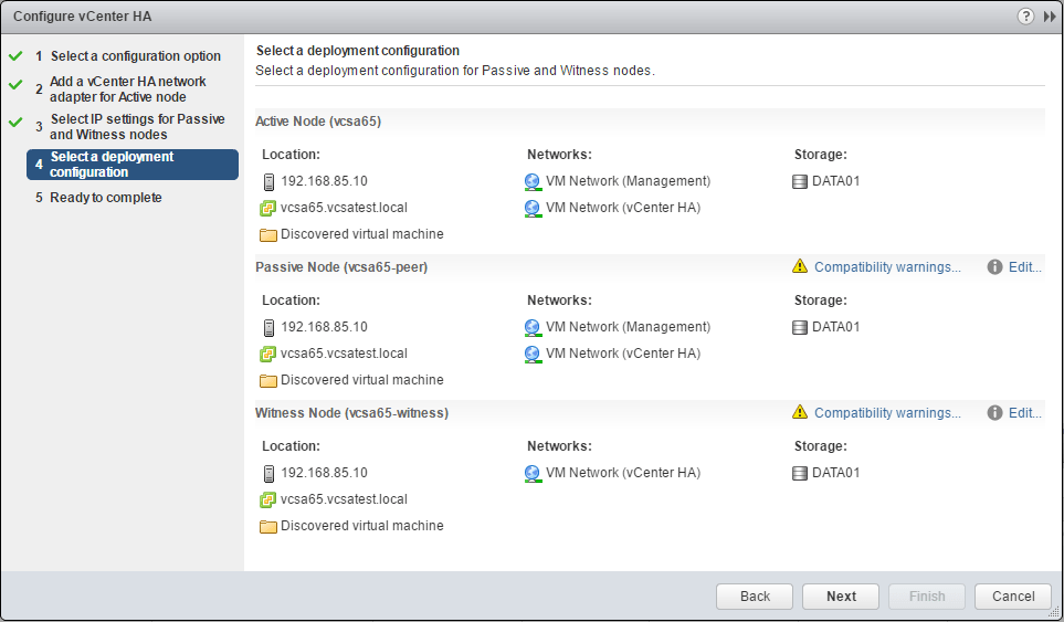 vcsa65n_ha04 How to Configure VMware VCSA 6.5 HA