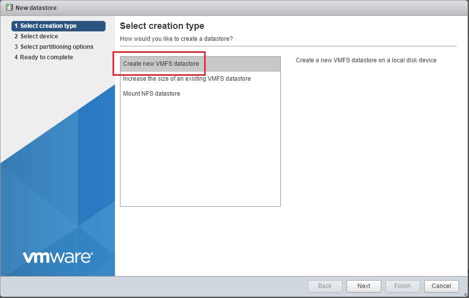 vmfs6_09 How to Create VMFS 6 Datastore in VMware vSphere 6.5