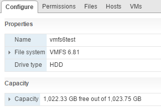 vmfs6_14 How to Create VMFS 6 Datastore in VMware vSphere 6.5