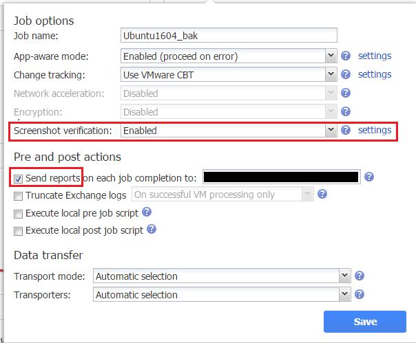 nbrscreen05 How to Verify VM Backups with Nakivo