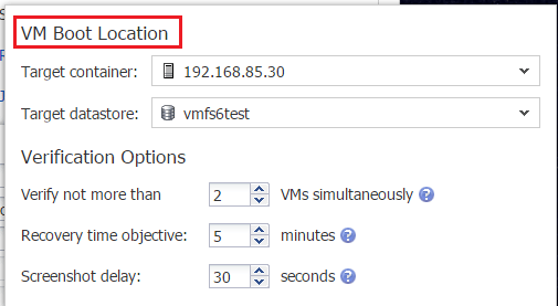 nbrscreen06 How to Verify VM Backups with Nakivo