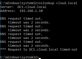win16dnspol04 Windows Server 2016 DNS Policy Deny Subnet Access to Zone