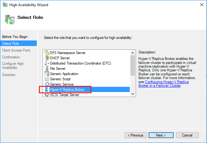 hyperrep03 Setup Windows Server 2016 Hyper-V VM Replication