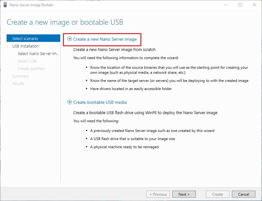 nano01 Install Windows Server 2016 Hyper-V Nano Server in VMware ESXi