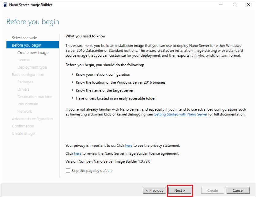 nano02 Install Windows Server 2016 Hyper-V Nano Server in VMware ESXi