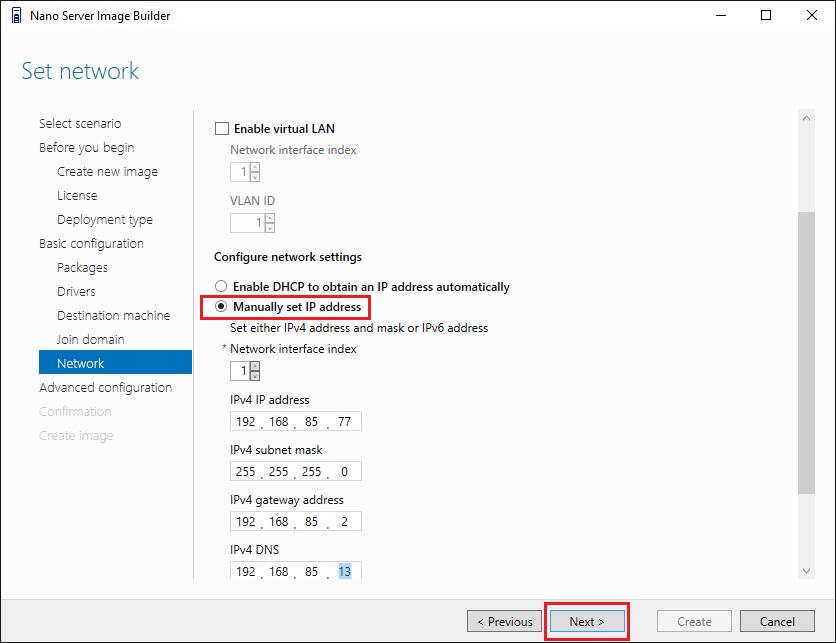 nano11 Install Windows Server 2016 Hyper-V Nano Server in VMware ESXi