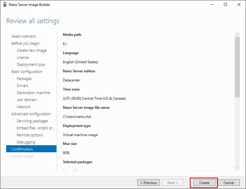 nano17 Install Windows Server 2016 Hyper-V Nano Server in VMware ESXi