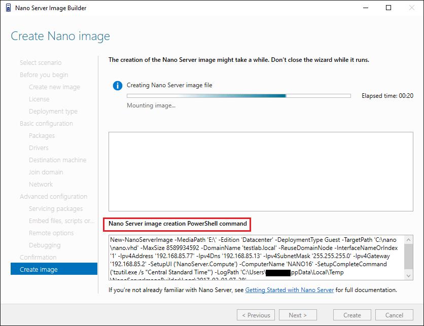 nano18 Install Windows Server 2016 Hyper-V Nano Server in VMware ESXi