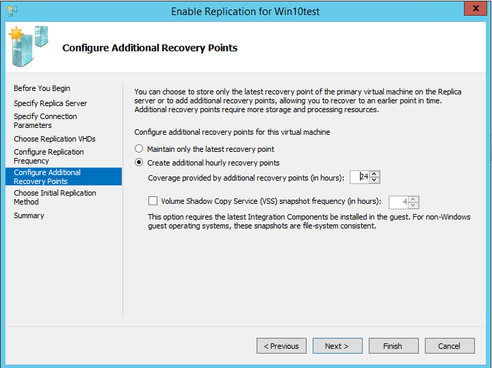 repreceive09 Setup Windows Server 2016 Hyper-V VM Replication