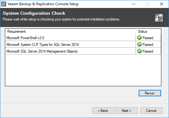 veeamcon03 Install Veeam 9.5 Backup and Replication Remote Console with PowerShell Snapin