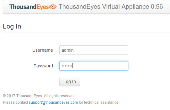 teagent02 Installing and Configuring Thousandeyes Enterprise Agents
