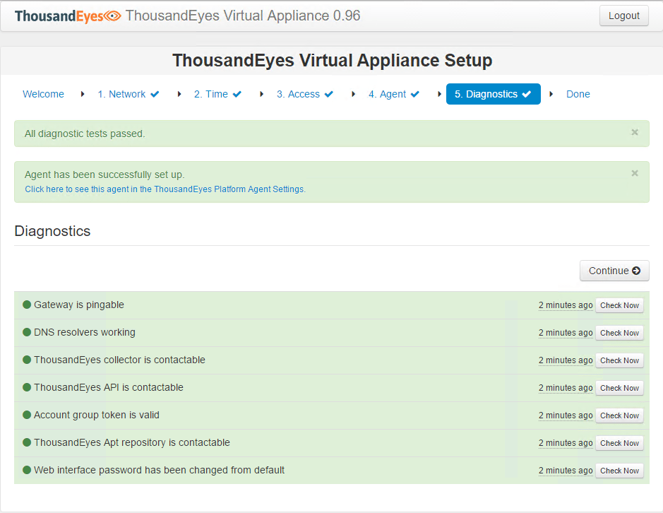 teagent05 Installing and Configuring Thousandeyes Enterprise Agents