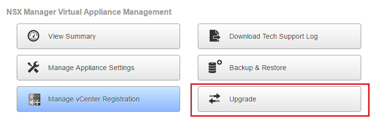 upnsxman01 Upgrading VMware NSX Manager to 6.3.1