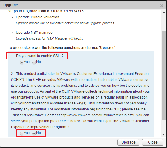 upnsxman07 Upgrading VMware NSX Manager to 6.3.1
