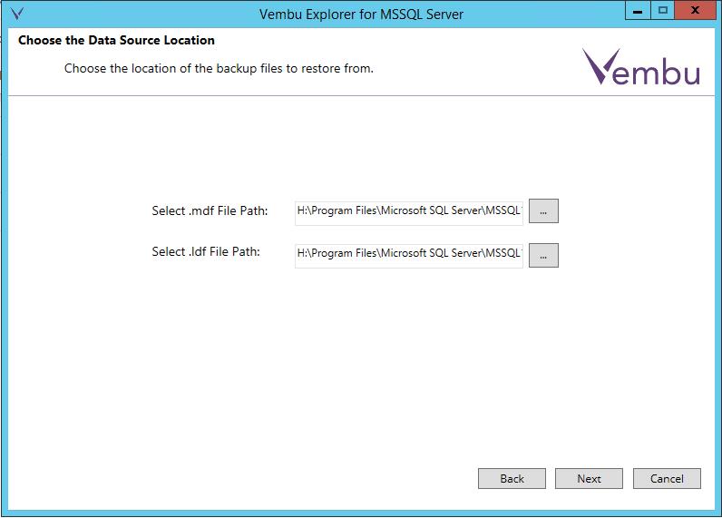 vembuapp08 Vembu BDR Suite Consistent Application Aware Backup and Restore