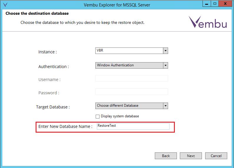 vembuapp12 Vembu BDR Suite Consistent Application Aware Backup and Restore