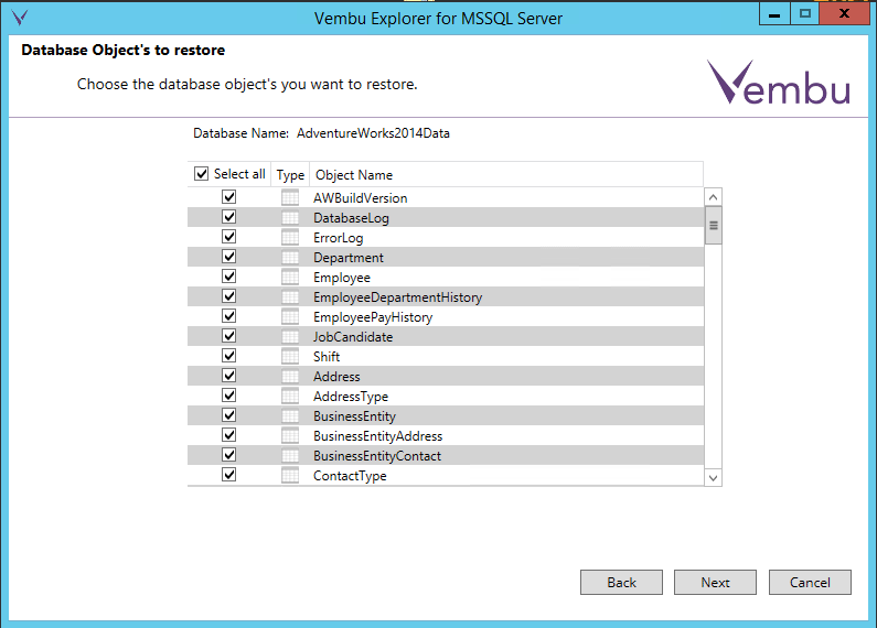 vembuapp14 Vembu BDR Suite Consistent Application Aware Backup and Restore