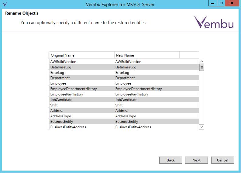 vembuapp15 Vembu BDR Suite Consistent Application Aware Backup and Restore
