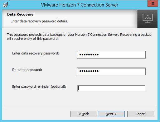 viewcon06 Installing VMware Horizon View 7.1 Connection Server