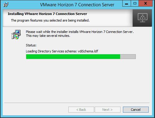 viewcon11 Installing VMware Horizon View 7.1 Connection Server