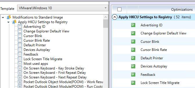 horizon10opt02b Optimize Windows 10 for VMware Horizon View 7.1