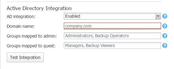 nakadint02 Configure Nakivo Backup and Replication v7 Active Directory Integration