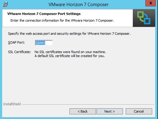 VMware Horizon View 7 1 Composer Install - Virtualization Howto