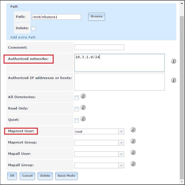 Configure FreeNAS 9 10 NFS VMware ESXi 6 datastore
