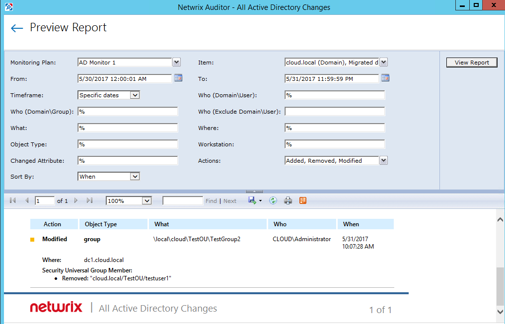 netwrixaud22 Monitor Active Directory Changes with Netwrix Auditor