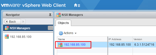 nsxdom01b Add VMware NSX Identity Source Domain