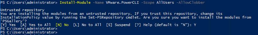 pcli651_04 VMware PowerCLI 6.5.1 New Way to Install