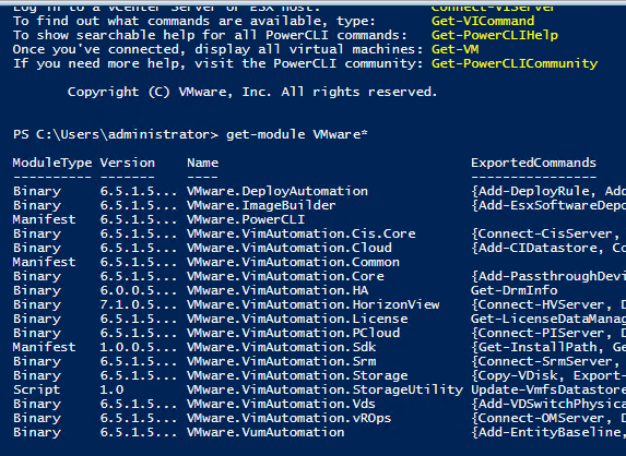 VMware PowerCLI 6 5 1 New Way to Install - Virtualization Howto