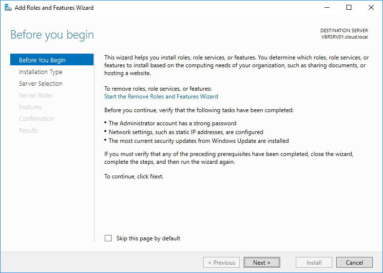 Install and Configure Windows Server 2016 WSUS