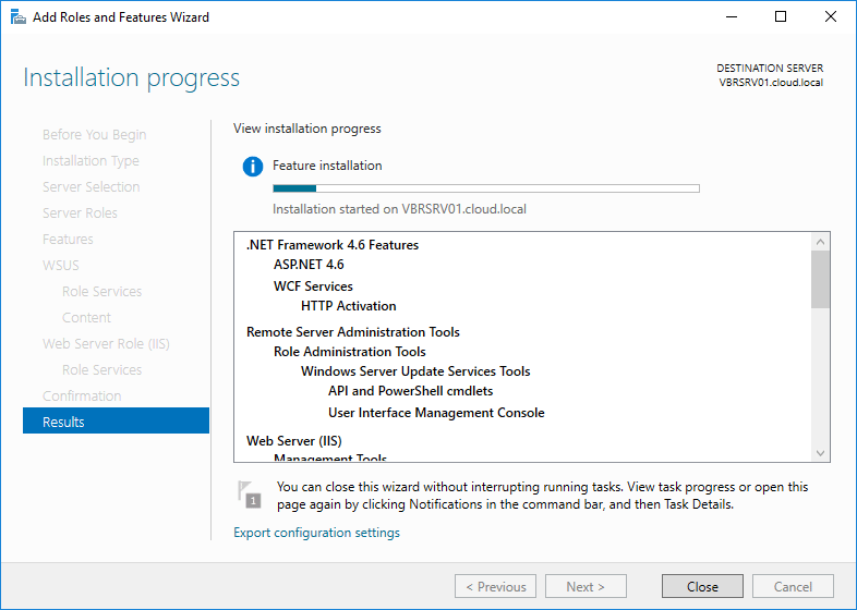 wsus16_13 Install and Configure Windows Server 2016 WSUS