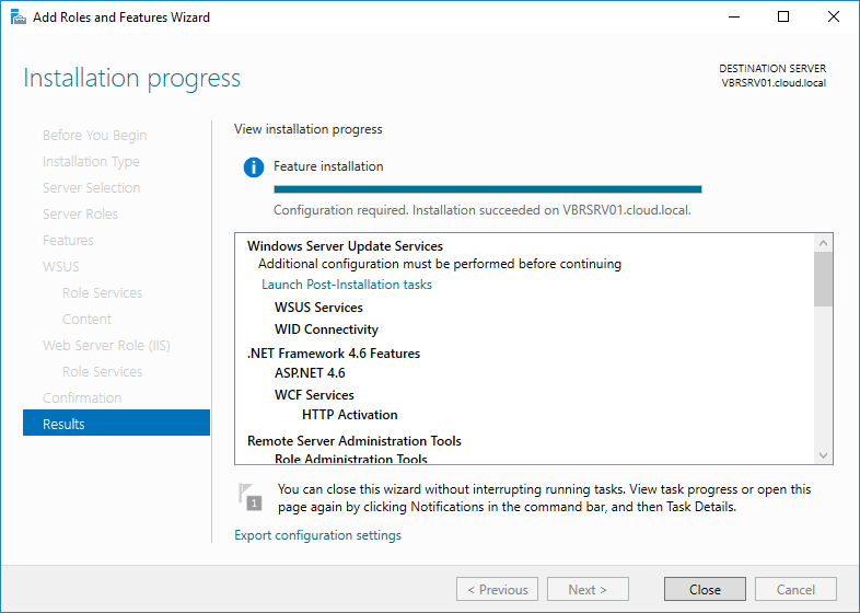 wsus16_14 Install and Configure Windows Server 2016 WSUS