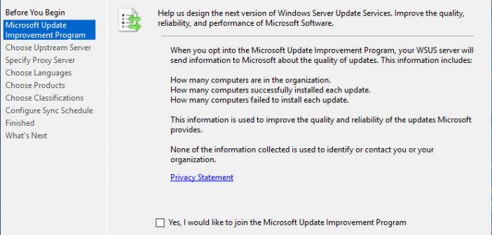 wsus replica server download updates from microsoft